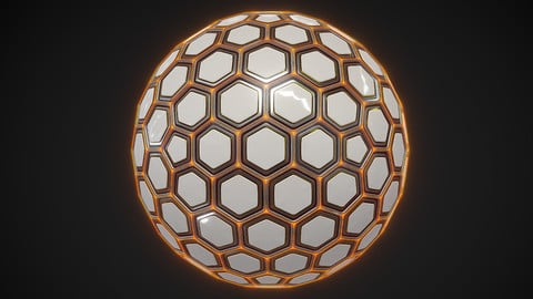 Sci-fi Hexa Sphere
