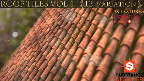ROOF TILES VOL.1 ( 12 VARIATION )