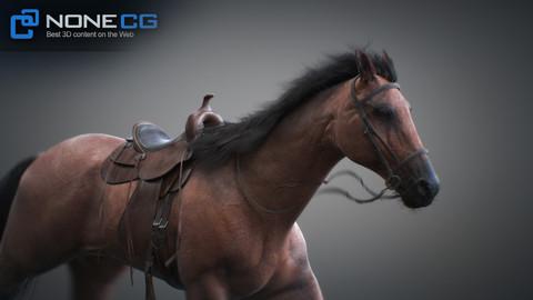 Horses 3dsMax v2