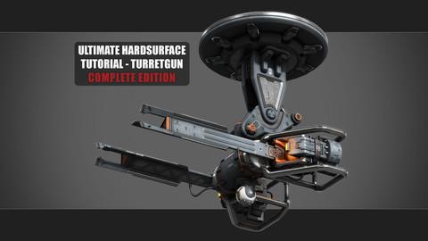 Ultimate Hardsurface Tutorial - Turretgun Complete Edition