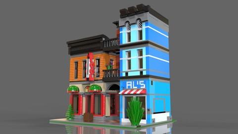 Lego Pool