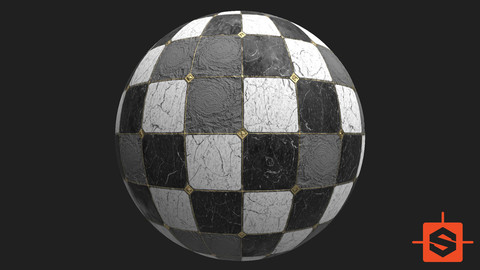 PBR Marble Floor Damaged