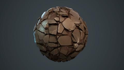 Stylized Stone Generator - Substance Designer