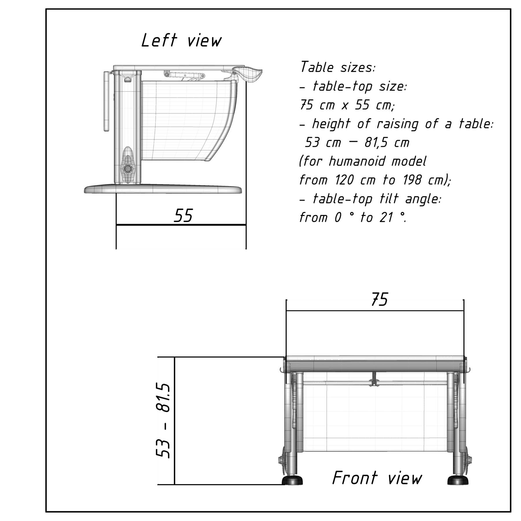 Artstation School Desk Resources, What Is The Size Of A School Desk