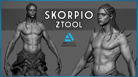 Skorpio - Zbrush Sculpt