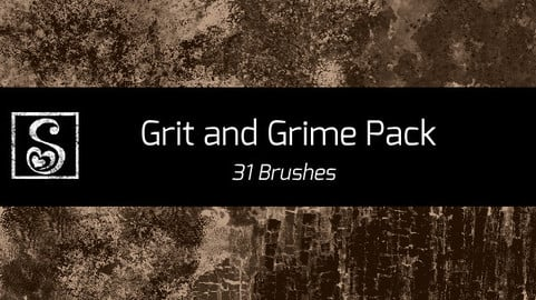 Shrineheart's Grime and Grit Pack - 31 Brushes