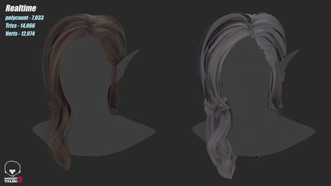 Realtime hair