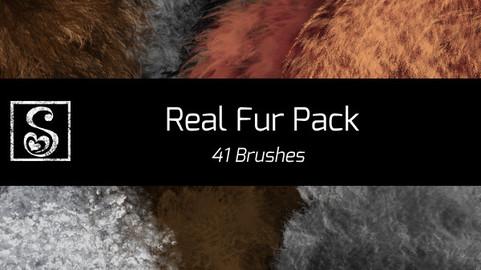 Shrineheart's Real Fur Pack - 41 Brushes