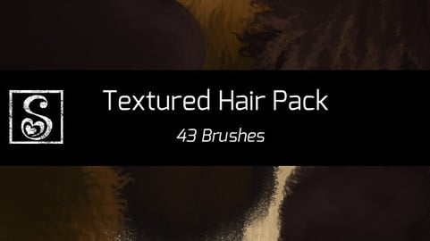 Shrineheart's Textured Hair Pack - 43 Brushes