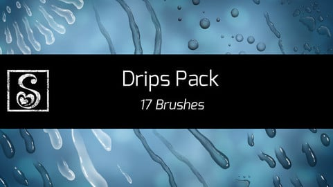Shrineheart's Drip Pack - 17 Brushes
