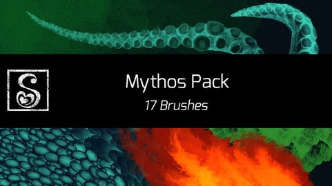 Shrineheart's Mythos Pack - 17 Brushes