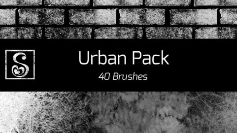 Shrineheart's Urban Pack - 40 Brushes