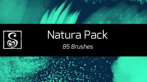 Shrineheart's Natura Pack - 85 Brushes