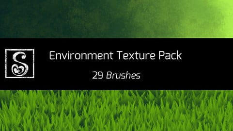 Manga Studio Environment Pack - 29 Brushes