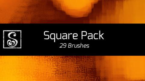 Shrineheart's Square Pack - 29 Brushes