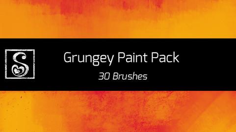 Shrineheart's Grungey Paint Pack - 30 Brushes