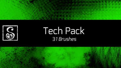 Shrineheart's Tech Pack - 31 Brushes