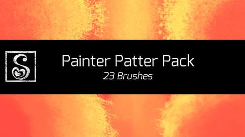 Shrineheart's Painter Patter Pack - 23 Brushes