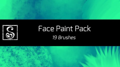 Shrineheart's Face Paint Pack - 19 Brushes