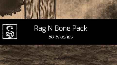 Shrineheart's Rag N Bone Pack - 50 Brushes