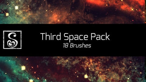 Shrineheart's Third Space Pack - 18 Brushes