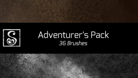 Shrineheart's Adventurer's Pack - 36 Brushes