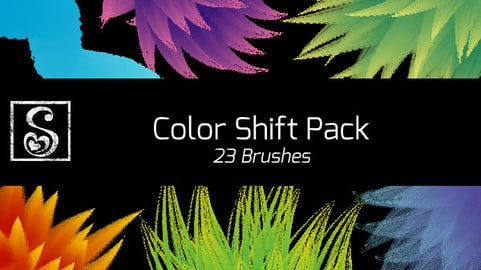 Shrineheart's Color Shift Pack - 23 brushes