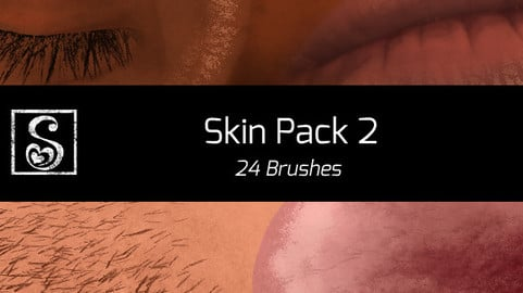 Shrineheart's Second Skin Pack - 24 Brushes