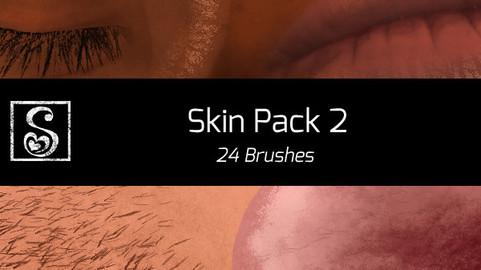 Shrineheart's Second Skin Pack - 24 Brushes
