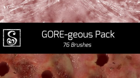 Shrineheart's GOREgeous Pack - 76 Brushes