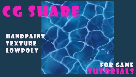 【TEXTURE】Low Poly Game Asset Water CGshare
