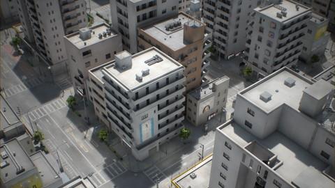 Japan – 4 Blocks #1