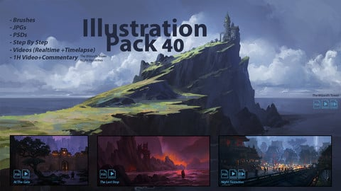 Illustration Pack 40 (not a stock asset)