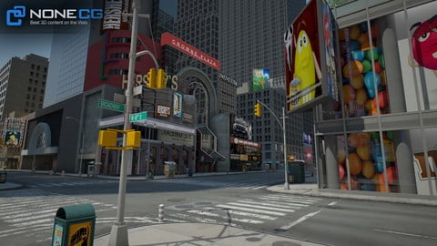 NYC Broadway – 7th Avenue Set 1