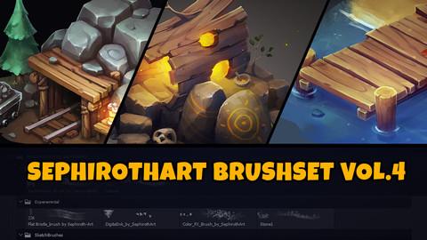 SephirothArt Brushset vol.4