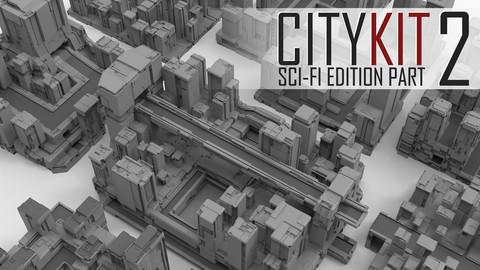 CityKit: Sci-Fi Edition Part 2