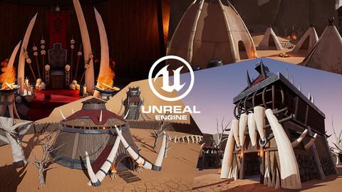 [UE4] Stylized Orc Village