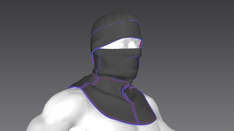 Clothes for Marvelous Designer: Hood02