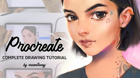 Procreate Drawing Tutorial - Start to Finish
