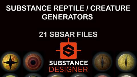 Reptile eye generators