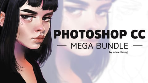 Photoshop CC Brushes - Mega Bundle