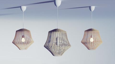 ikea lamp - industrial