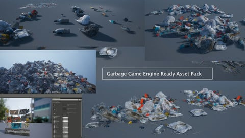Garbage Game Engine Ready Asset Pack