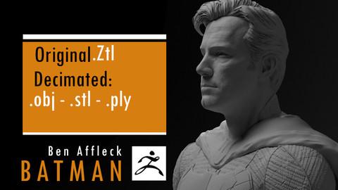 Ben Affleck Batman without mask
