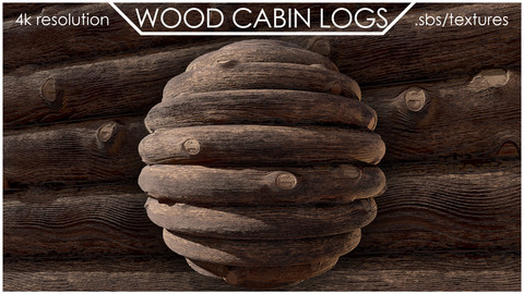 WOOD CABIN LOGS | MATERIAL