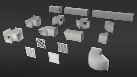 Ventilation Duct Pack 03