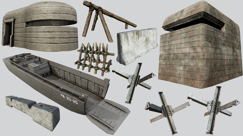 D-day Invasion Asset Pack
