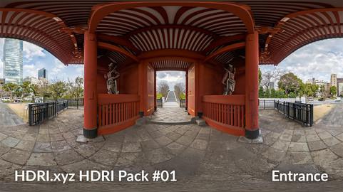 Entrance - 16K 32bit HDRI Spherical Panorama (from Pack #1)