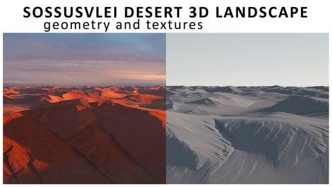 Sossusvlei Desert 3D Landscape