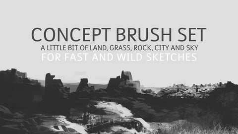 Fast Sketch Concept Brush Set - 1.0